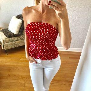 4ba713e6e838 Women s Juicy Couture Polka Dot Top on Poshmark